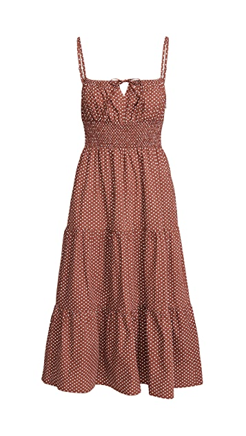 FAITHFULL THE BRAND Canyon Midi Dress