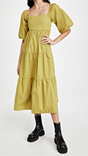 FAITHFULL THE BRAND Kiona Midi Dress