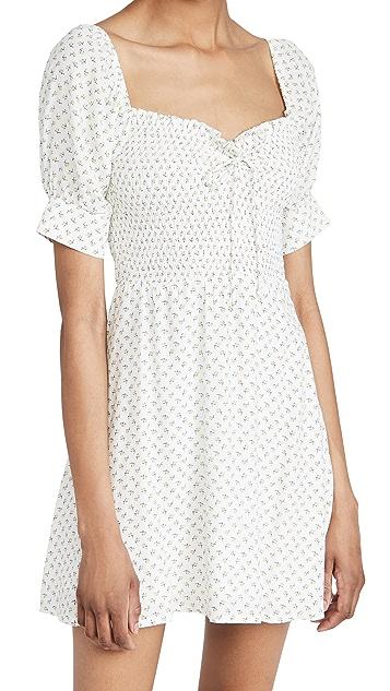 FAITHFULL THE BRAND Dulcia Mini Dress 10 Spring wardrobe essentials
