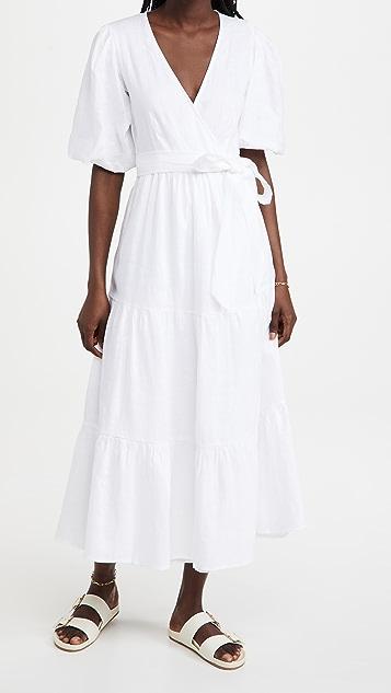 FAITHFULL THE BRAND Edee Wrap Dress