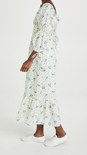 FAITHFULL THE BRAND Marita Midi Dress