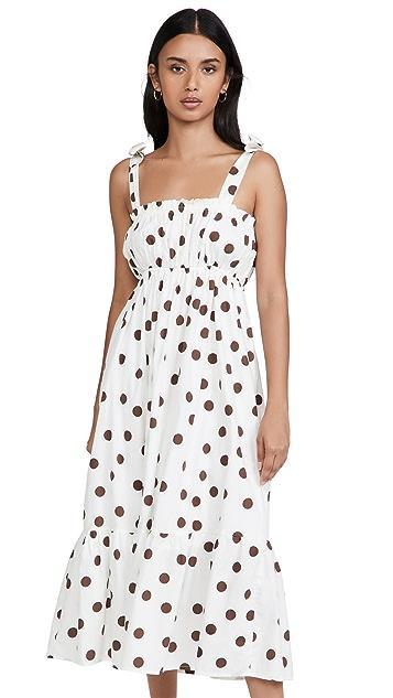 FAITHFULL THE BRAND Gia Midi Dress