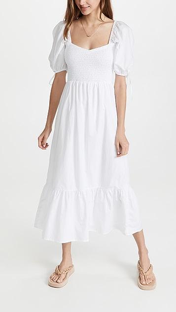 FAITHFULL THE BRAND Lithana Midi Dress