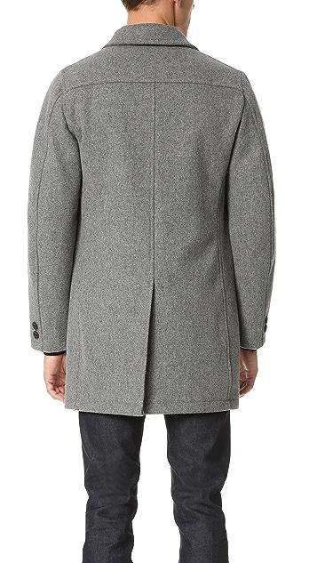 Gerald & Stewart by Fidelity Wool Tailored Coat