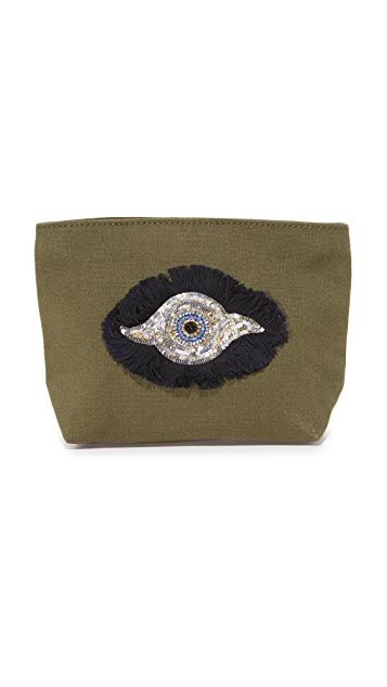 Figue Evil Eye Pouch