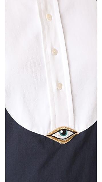Figue Evil Eye Tux Shirt
