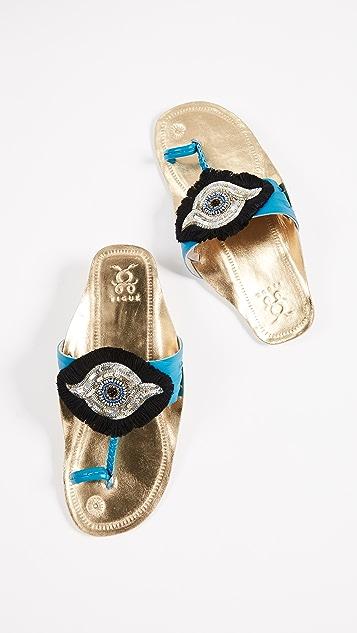 Figue Evil Eye Sandals