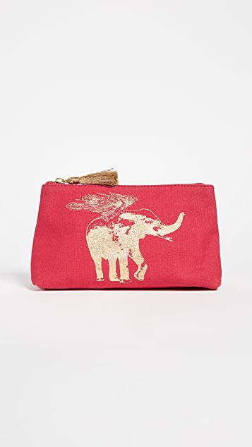 Really Cheap Online Figue Flying Elephant cosmetic pouch Cool Professional Cheap Price Clearance Deals jIEw6qf22