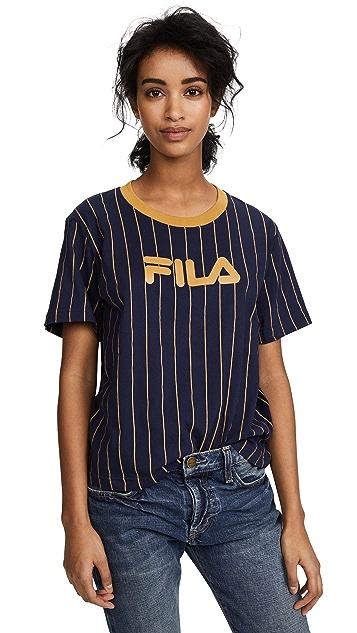 Fila Lonnie Pinstripe T-Shirt