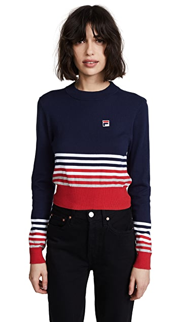 Fila Mariah Crop Sweater