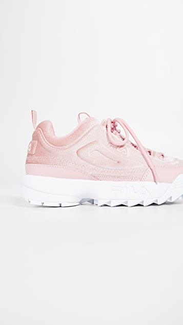 Fila Disruptor II Premium Velour Sneakers