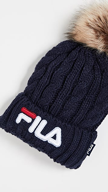 Fila Cable Knit Beanie