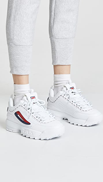 Fila Disruptor Ii Premium Repeat Sneakers