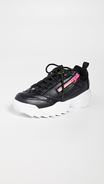 Disruptor 3 Zip Sneakers by Fila