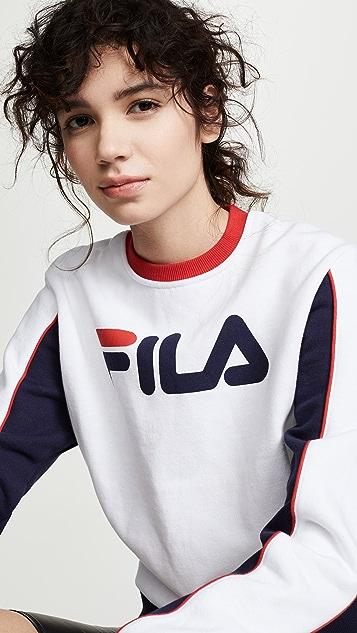 Fila Nuria Colorblock Sweatshirt