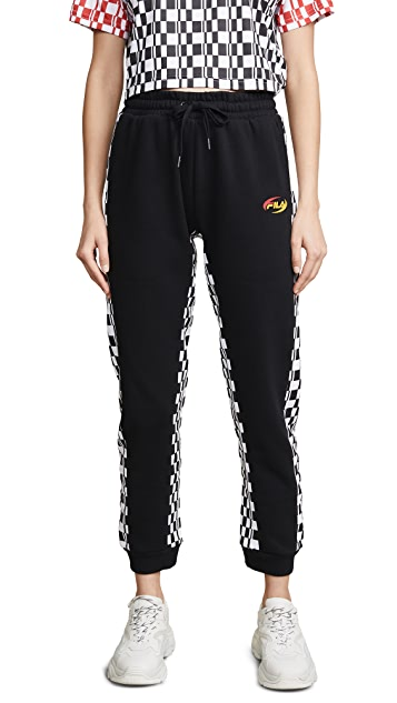 Fila Dita High Rise Sweatpants