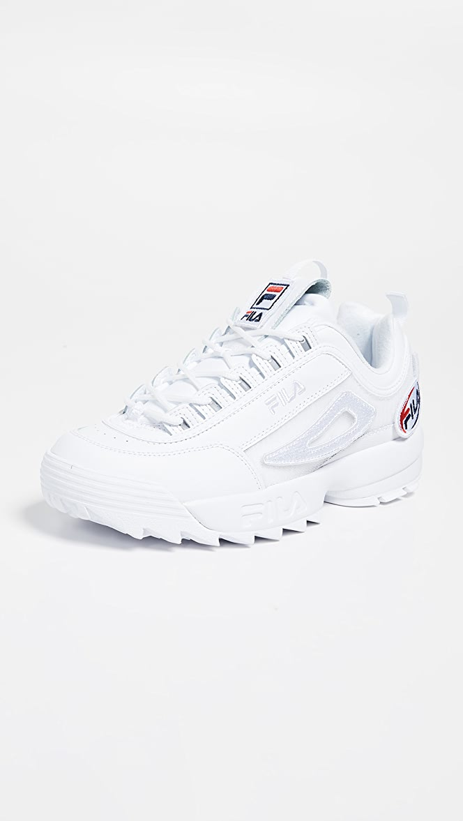 Fila Disruptor II Custom Patch Sneakers | EAST DANE