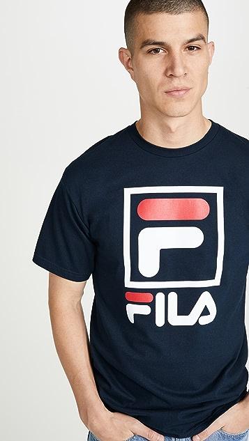 Fila Stacked Tee Shirt