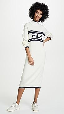 Alina Long Line Dress