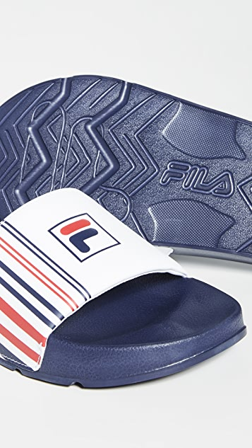 Fila Drifter Stripe Slides