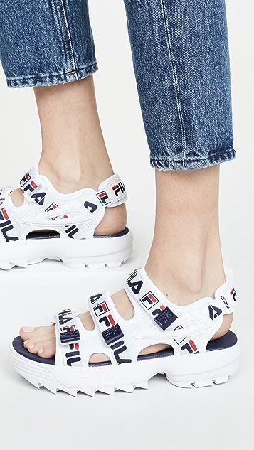 Fila Disruptor 凉鞋