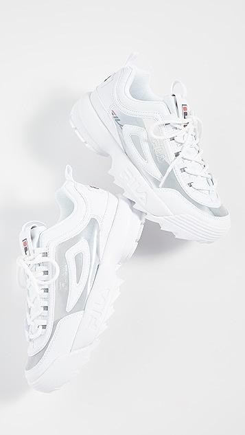 Fila Disruptor II Clear Sneakers