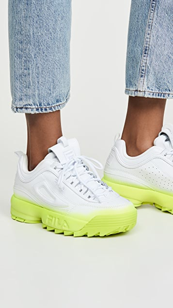 Disruptor II Brights Fade Sneakers