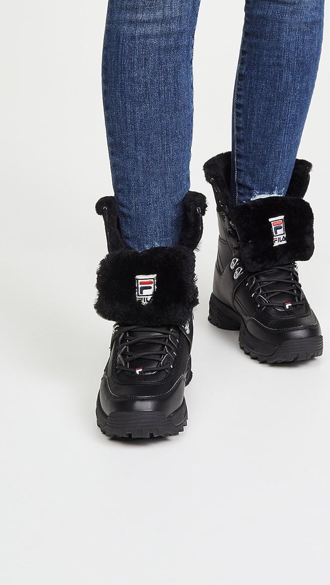 Fila Disruptor Boots | SHOPBOP | Black