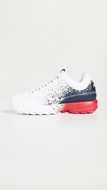 Fila Disruptor II Splatter Sneakers