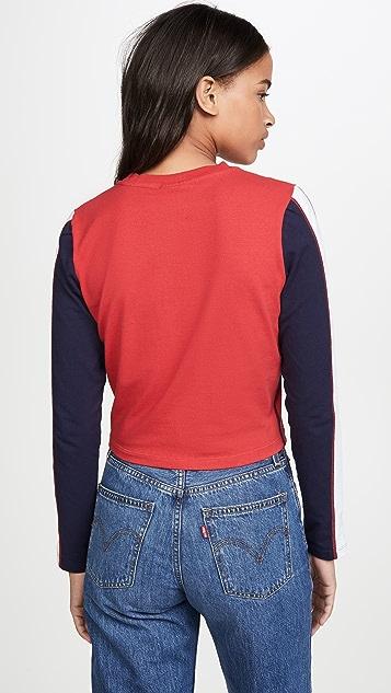 Fila Amouk Long Sleeve Crop Top