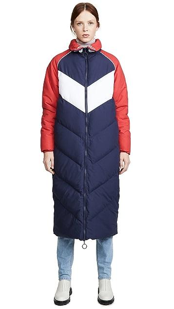 Fila Keon Long Puffer Jacket