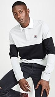 Fila Frederick Long Sleeve Rugby Shirt