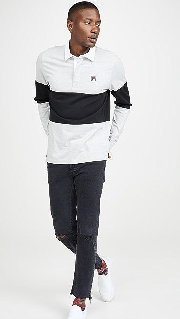 Fila Frederick Long Sleeve Rugby Shirt