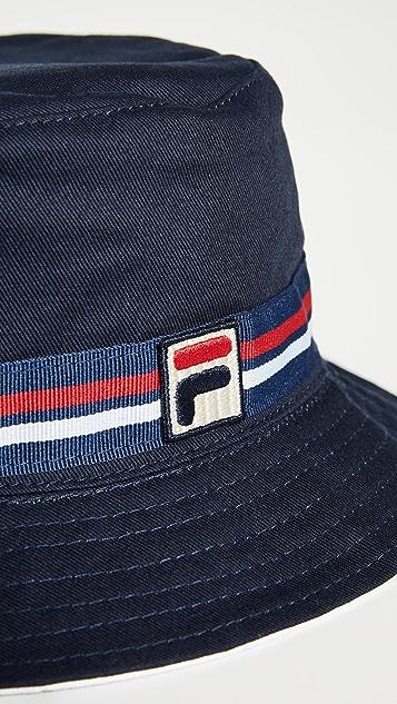 Fila Reversible Cotton Twill Bucket Hat