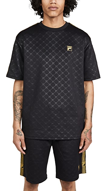 Fila Short Sleeve Pelle Crew Neck T-Shirt