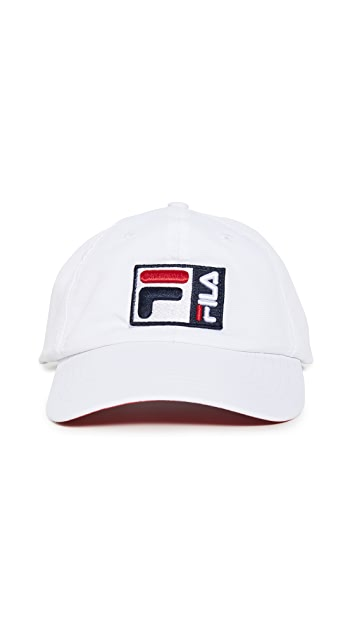 Fila Grid Tech Curved Brim 6-Panel Cap