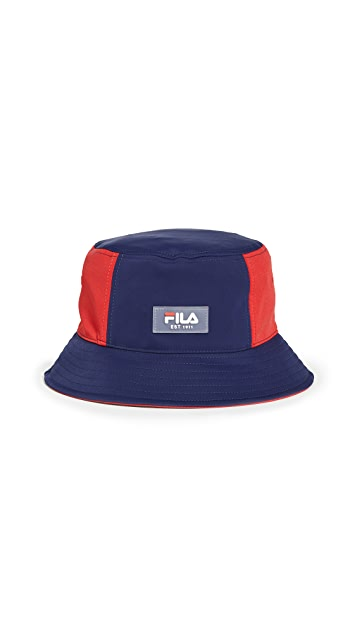Fila Colorblocked Bucket Hat