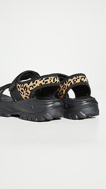 Fila Outdoor Animal Print Sandals