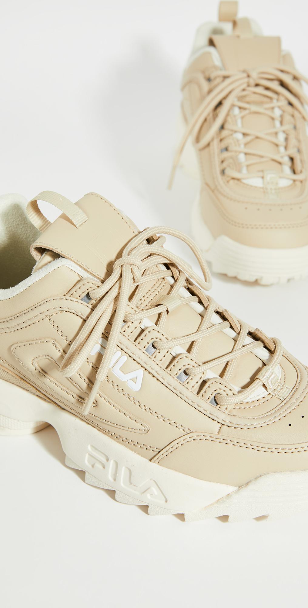 Fila Disruptor II Nude Sneakers | SHOPBOP