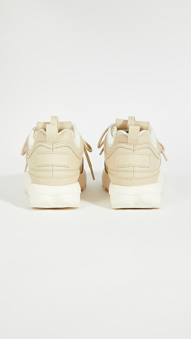 Fila Disruptor II Nude Sneakers   SHOPBOP