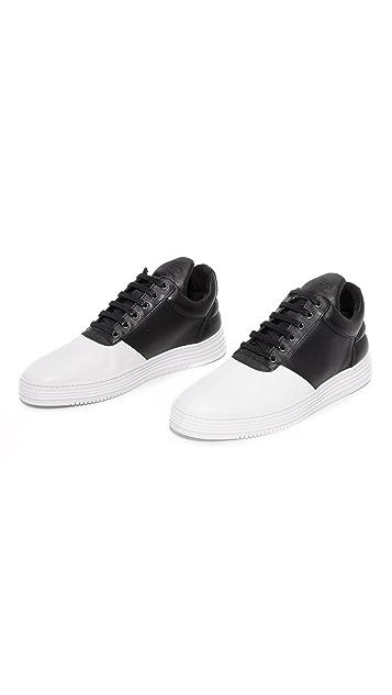 Filling Pieces Low Top Diagonal Sneakers