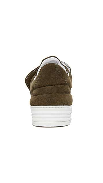 Filling Pieces Padded Velcro Low Top Sneakers