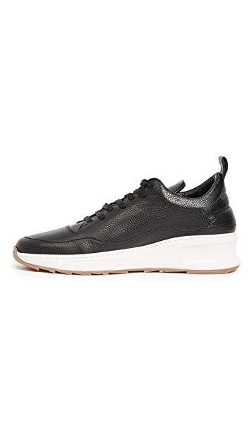 Filling Pieces Steel Runner Shark Sneakers