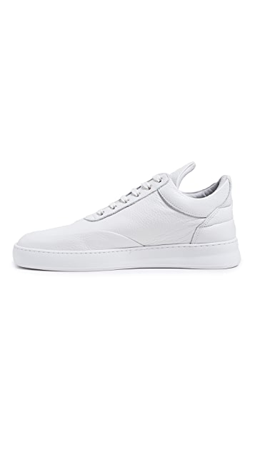 Filling Pieces Low Top Grain Sneakers