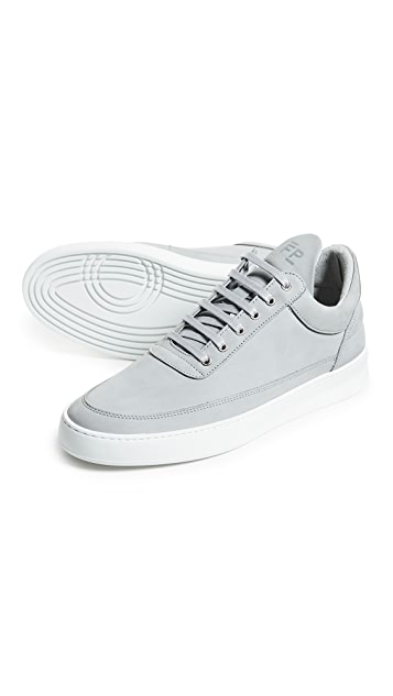 Filling Pieces Low Top Plain Lane Sneakers