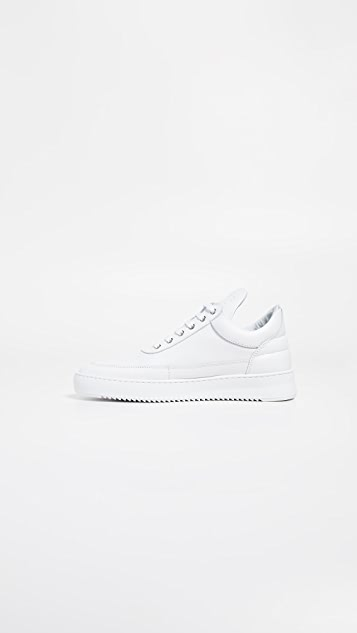 Filling Pieces Low Top Ripple Lane Nappa Sneakers