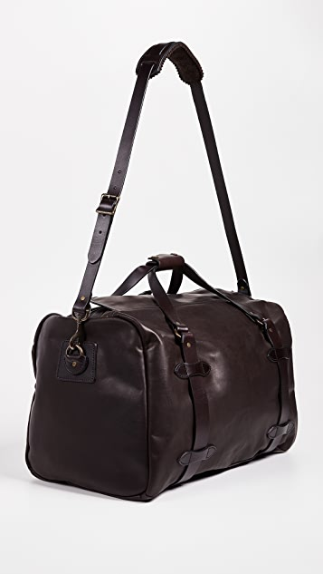 Filson Weatherproof Leather Medium Duffel Bag