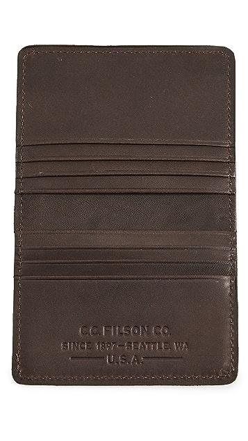 Filson Outfitter Card Wallet