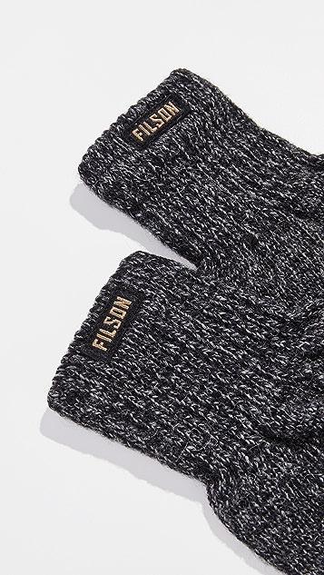 Filson Full Finger Knit Gloves