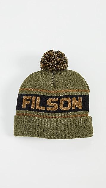 Filson Acrylic Logo Beanie
